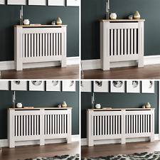 Arlington Radiator Cover White Traditional Modern Cabinet Wood Grill Furniture