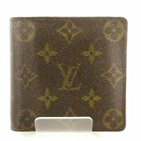 Auth LOUIS VUITTON Portefeuille Marco M61675 Monogram CT0032 Bifold Wallet
