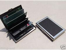 METAL BODY BUSINESS NAME CARD/CREDIT/DEBIT/ID CARD HOLDER ( BLACK )