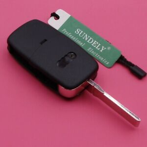 3 Button Remote key Fob 433.92MHZ With ID48 Chip 4D0 837 231 A for Audi A3 A4 A6