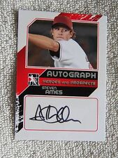 Los Angeles Dodgers Steven Ames Signed 2011 ITG Heroes & Prospects Auto /190