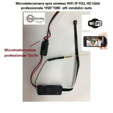 Microtelecamera spia WiFi-IP FULL HD h264 professionale 1920*1080 atti vandalici