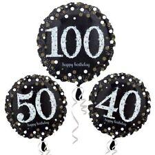 Palloncini in oro numero per feste e party