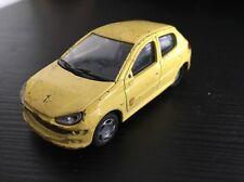 Modellismo Peugeot 206 Gialla 1:43 - Monowell (?)