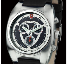 TONINO LAMBORGHINI Men's Swiss Movt Black Leather Chronograph w/Date-List $2,525