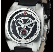 TONINO LAMBORGHINI Men's Swiss Movt Black Leather Chronograph w/Date-List $2,525
