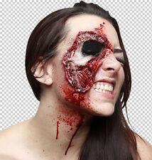 Prosthetic SFX Makeup Wounds Closer Look Face SFX