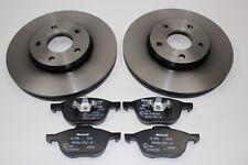 Original Bremsscheiben + Bremsbeläge vorne Ford Focus - C-Max 1734696 + 1809256