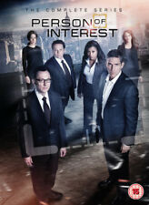 Person of Interest Seasons 1 to 5 Complete Collection (region 2 DVD )