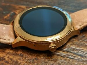 Fossil Gen 3 Smartwatch Rose Gold-tone Stainless Steel FTW6005 DW5A
