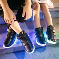 Chaussures de Sport Lumineuses Clignotantes 7 Couleurs LED Colorés avec