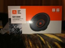 JBL High Performance Car Audio Subwoofer GX1200 NIB