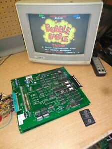 BUBBLE BOBBLE REDUX Arcade Game Circuit Boards, Tested and Working, 1986 PCB