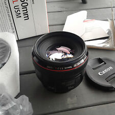 Canon EF 50mm f/1.2 L USM Lens - Great Shape!