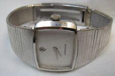 Longines Mans Diamond Dial Wrist Watch