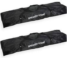 2x Transporttasche für je 2 Boxenstative Boxenständer Tragetasche Tasche Rockbag