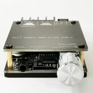 ZK-502C HIFI 5.0  Mini Digital Amplifier Board TPA3116 Audio Power Amp
