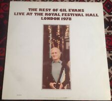 GIL EVANS the rest of live at the festival hall 81 UK MOLE JAZZ VINYL LP RECORD