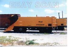8J800H RP 1986 CMStP&P MILWAUKEE RAILROAD SNOWPLOW X900246 DAVENPORT IA