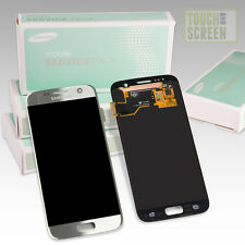 100% Original Samsung Galaxy S7 SM-G930F Display Screen silber silver