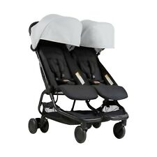 Poussette double nano Silver Mountain Buggy 2018