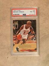 Michael Jordan 1995-96 Fleer Ultra #25 Chicago Bulls PSA 8 NM MINT