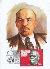 maxi card 5 Lenin Revolutionary Politiker Staatsmann leaders October revolution