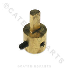 FALCON 535710030 BRASS SPINDLE ADAPTOR SHAFT EXTENSION FOR DOMINATOR GAS FRYERS