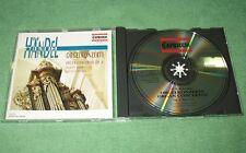 Haendel-CD Orgue concerts organe Concertos op.4/Erzsebet Achim & Budapest Strings