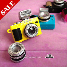 Uncle 1/3 1/4 1/6 BJD Camera Blythe Pullip Dollfie DD AOD Mini camera 013 Yellow