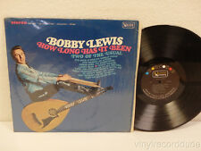 BOBBY LEWIS How Long Has It Been LP United Artists Records UAS 6582 (1972)SHRINK