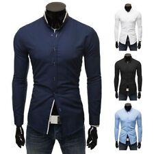 Camicie casual e maglie da uomo multicolore in misto cotone
