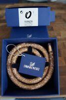 Swarovski StarDust Deluxe Bracelet Double Strap Magnetic Clasp, 5159278, Medium