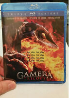 Gamera Trilogy 1 2 3 BLURAY NEW VS GAOS Legion Iris Guardian of the Universe NEW