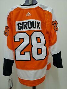Adidas Philadelphia Flyers Claude GIROUX jersey Orange New mens Size (50) MEDIUM