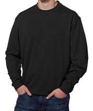 Nwt Black Pebble Beach Golf Performance Crew Neck Pullover Shirt Size Medium