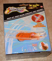 Zoom Tubes Charge Cable  Racer  Pack, Orange RC Race Car, Remote NEW