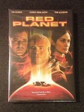 RED PLANET DVD Carrie Anne Moss, Val Kilmore, Tom Sizemore. Sci-Fi Thriller. New