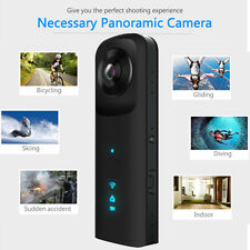 360° Degree Panoramic VR Sport Action Camera Wifi Camcorder Dual Fisheye Lens EB
