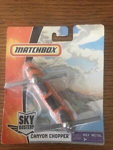 Matchbox Sky Busters Canyon Chopper