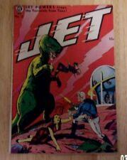 JET POWERS #2 VERY NICE VG/FN 1951 MAGAZINE ENTERPRISES,SHARP DINOSAUR COVER