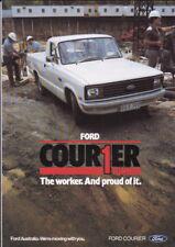 1982 FORD COURIER UTE Australian 8p Brochure like MAZDA B-SERIES