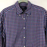 Charles Tyrwhitt Weekend Extra Slim Fit Shirt Mens Small Non Irion Check