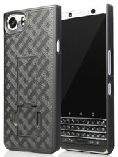 Black Kickstand Slim Case Hard Cover for BlackBerry KEYone