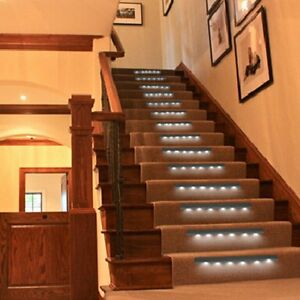 AUTISM SENSORY MOTION SENSOR STAIR  LIGHT 6 LED SHOW ADHD AID THERAPY