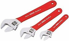 Draper Redline 67634 Soft Grip Adjustable Wrench Set 3-piece