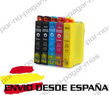 5 CARTUCHOS DE TINTA COMPATIBLE NON OEM PARA EPSON WF-2750DWF T1631/2/3/4