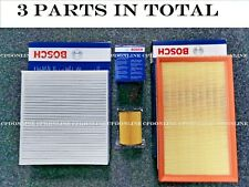 NISSAN QASHQAI PETROL BOSCH SERVICE KIT OIL+AIR+CABIN FILTERS 2007-2012 PARTS