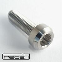 Titanium BBS RS RX Split Rim Bolts M7 24mm Forged CNC Head, rolled thread, Gr 5