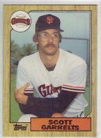 1987 Topps Baseball San Francisco Giants Complete Team Set